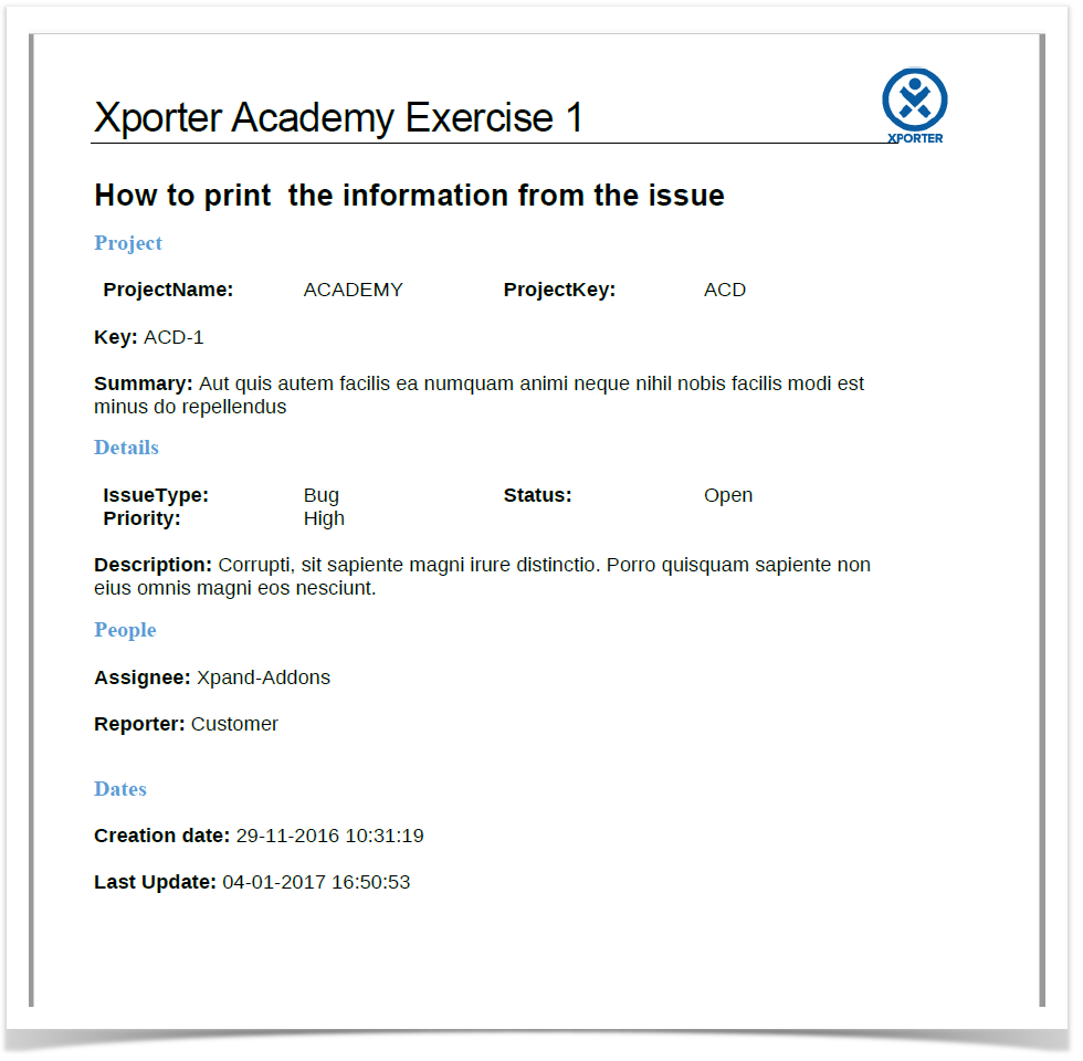 An Insightful Overview On Selecting Critical Issues Of Fitness: How To Get Issue Data Printed On Document