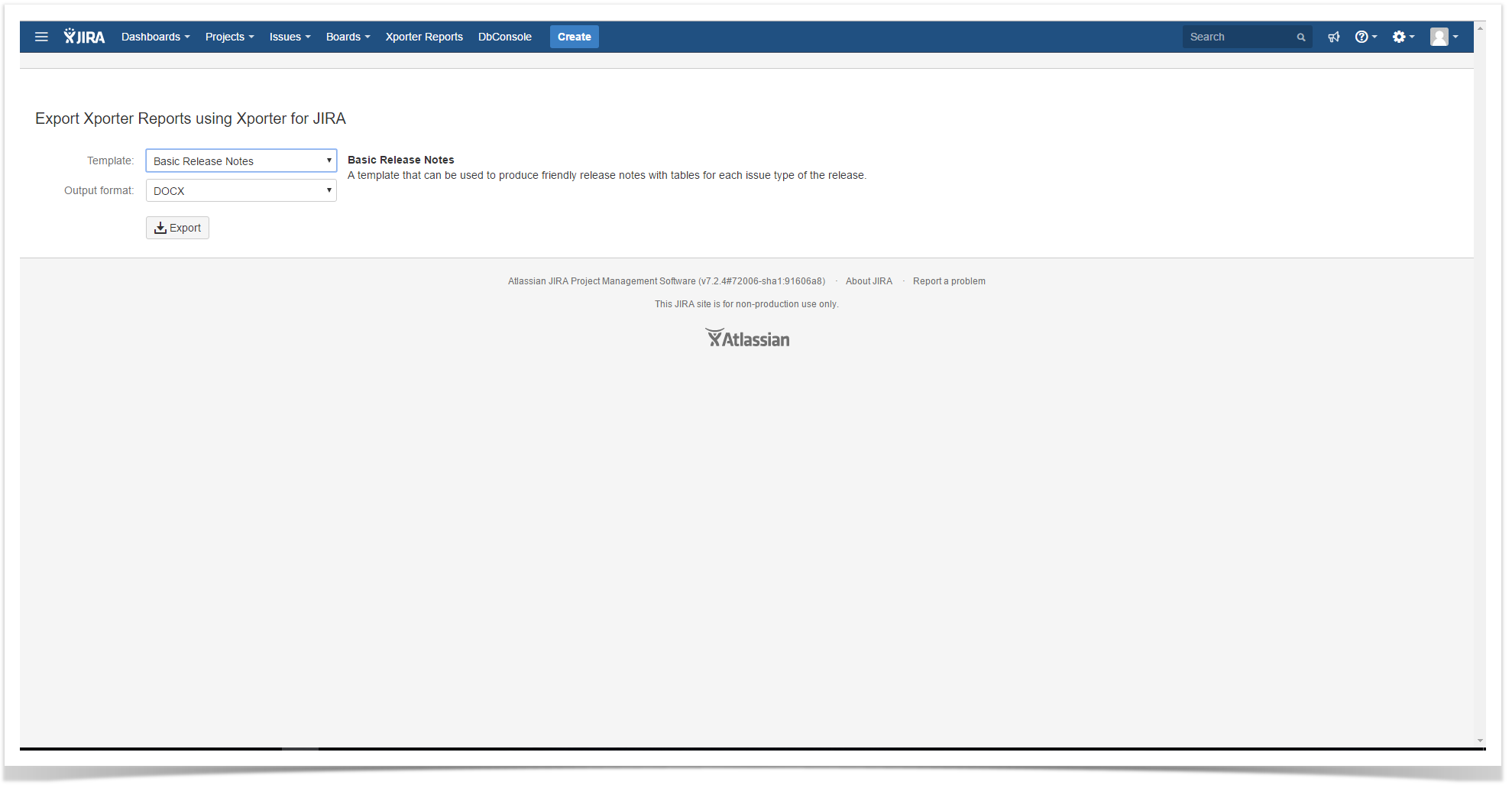 Xporter 500 Release Notes Xporter for JIRA Latest – Release Notes Template