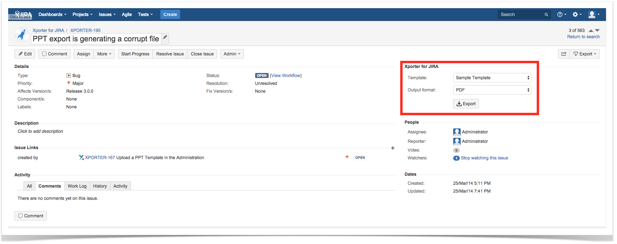 Exporting Xporter For Jira 51 Xpand Add Ons Confluence